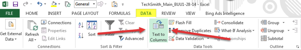 Using Excel in your crawl review